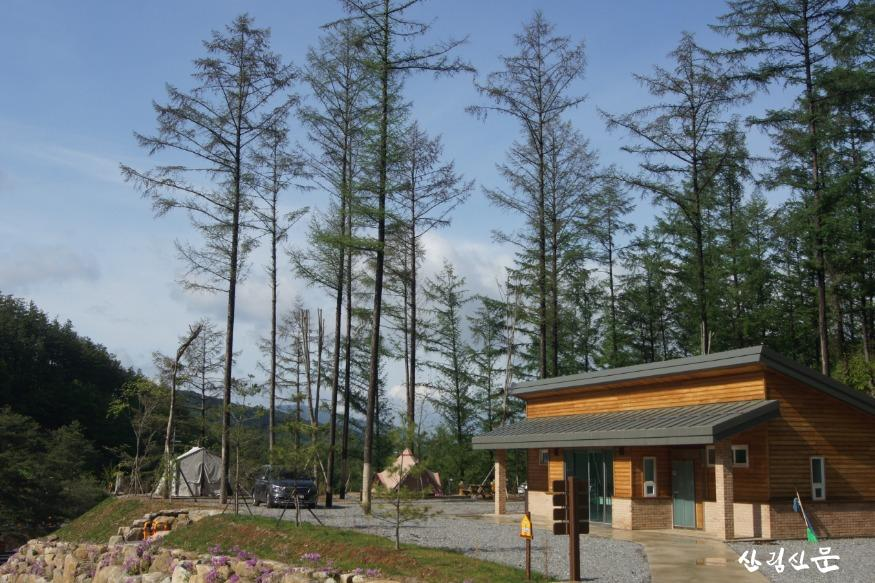 (사진1) 강원도 화천군에 위치한 국립화천숲속야영장 모습입니다..JPG