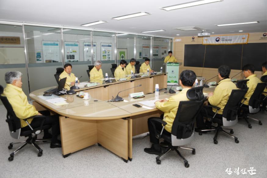 국립산림과학원은 1월 31일, 원장 주재하에 봄철 산불예측분석센터 운영 검검회의를 가졌다_2.jpg