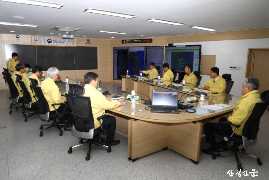 국립산림과학원은 1월 31일, 원장 주재하에 봄철 산불예측분석센터 운영 검검회의를 가졌다_1.jpg