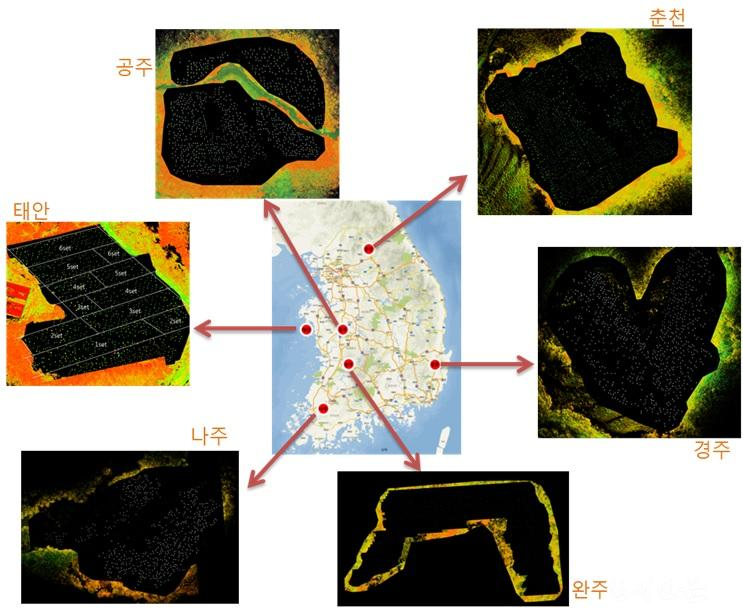 [붙임자료 1] 3D 스캐너로 촬영한 전국에 조성된 소나무 인공시험림.jpg