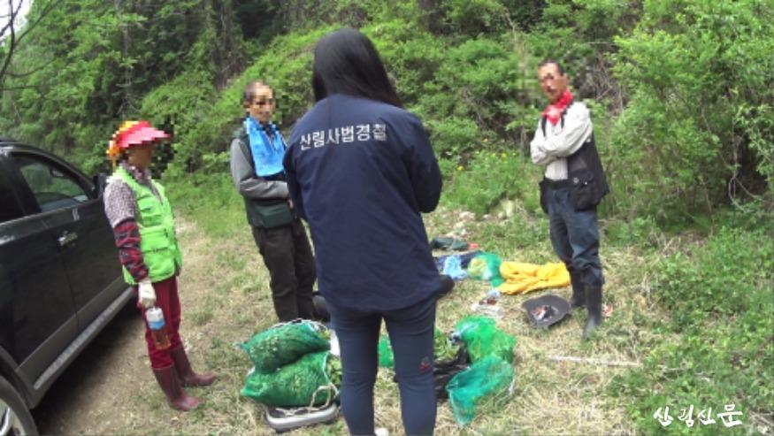 (관련사진) 북부지방산림청, 봄철  산림 내 불법행위 집중단속2.jpg