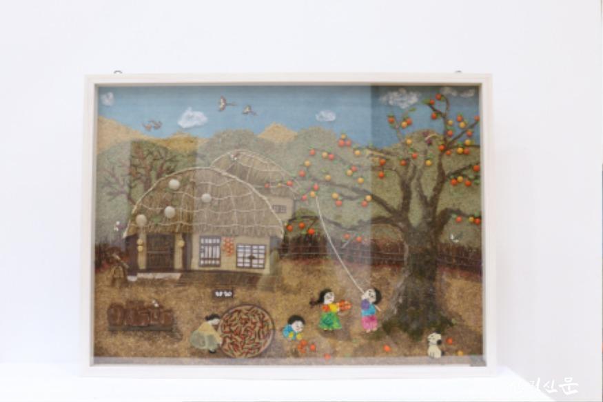 (사진2) 최우수상을 수상한 `회상`이라는 작품입니다..JPG