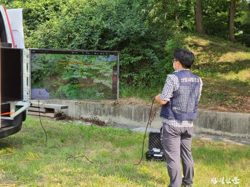 여름철 산림 내 불법행위 단속모습.jpg