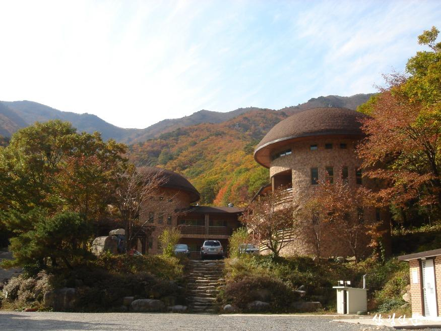 (사진 2) 운문산자연휴양림 제2산림문화휴양관(경북 청도)입니다..JPG