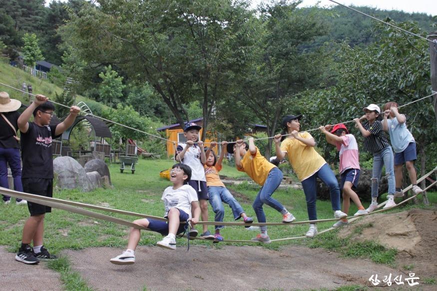 (사진4) 숲체험교육사업(전남 곡성, 섬진강 도깨비마을).JPG