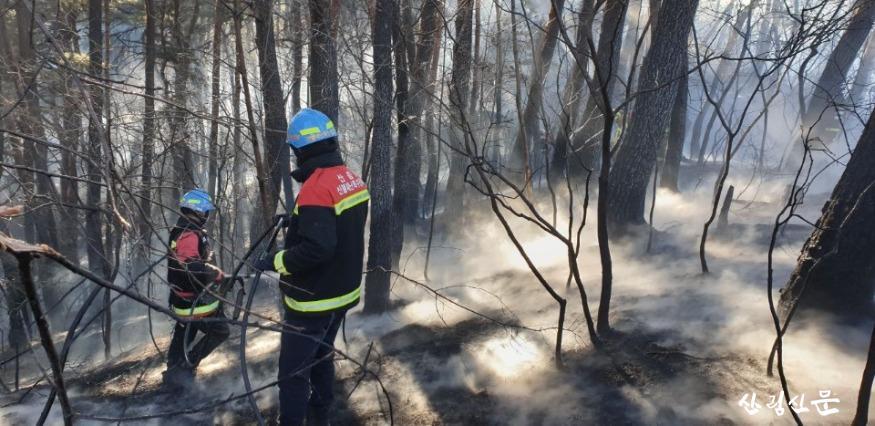 (산림청제공) 정선산불 특수진화대 사진2.jpg